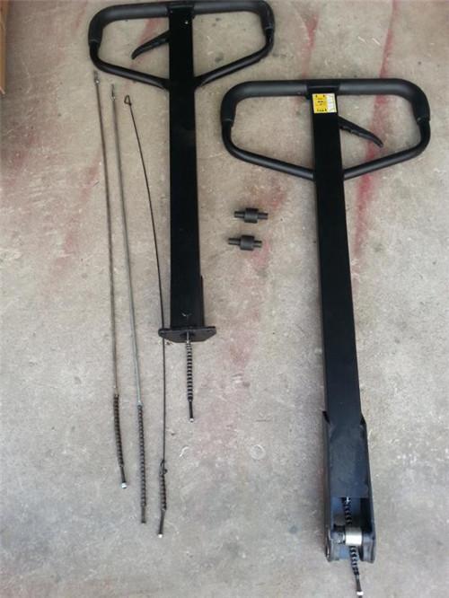 液压车手柄、链条、滚轮